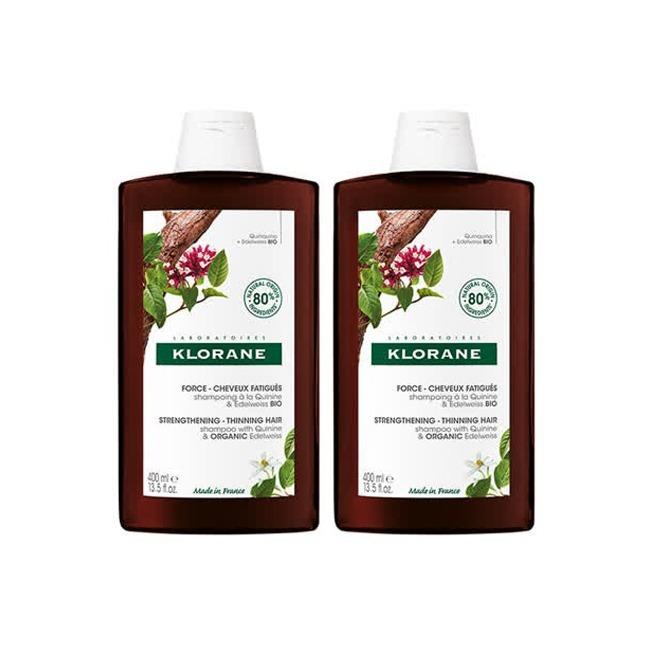 【2入優惠組】KLORANE 蔻羅蘭 養髮洗髮精 400ml