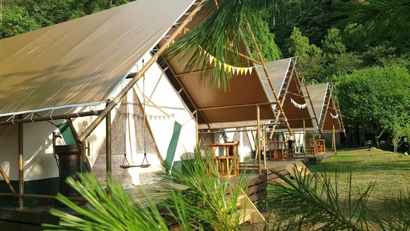 豪華露營帳篷
