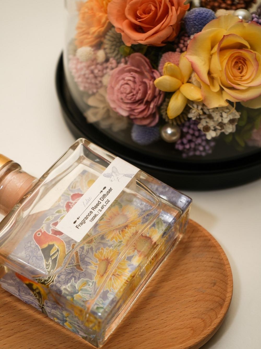 迪士尼公主永生花盅罩-睡美人