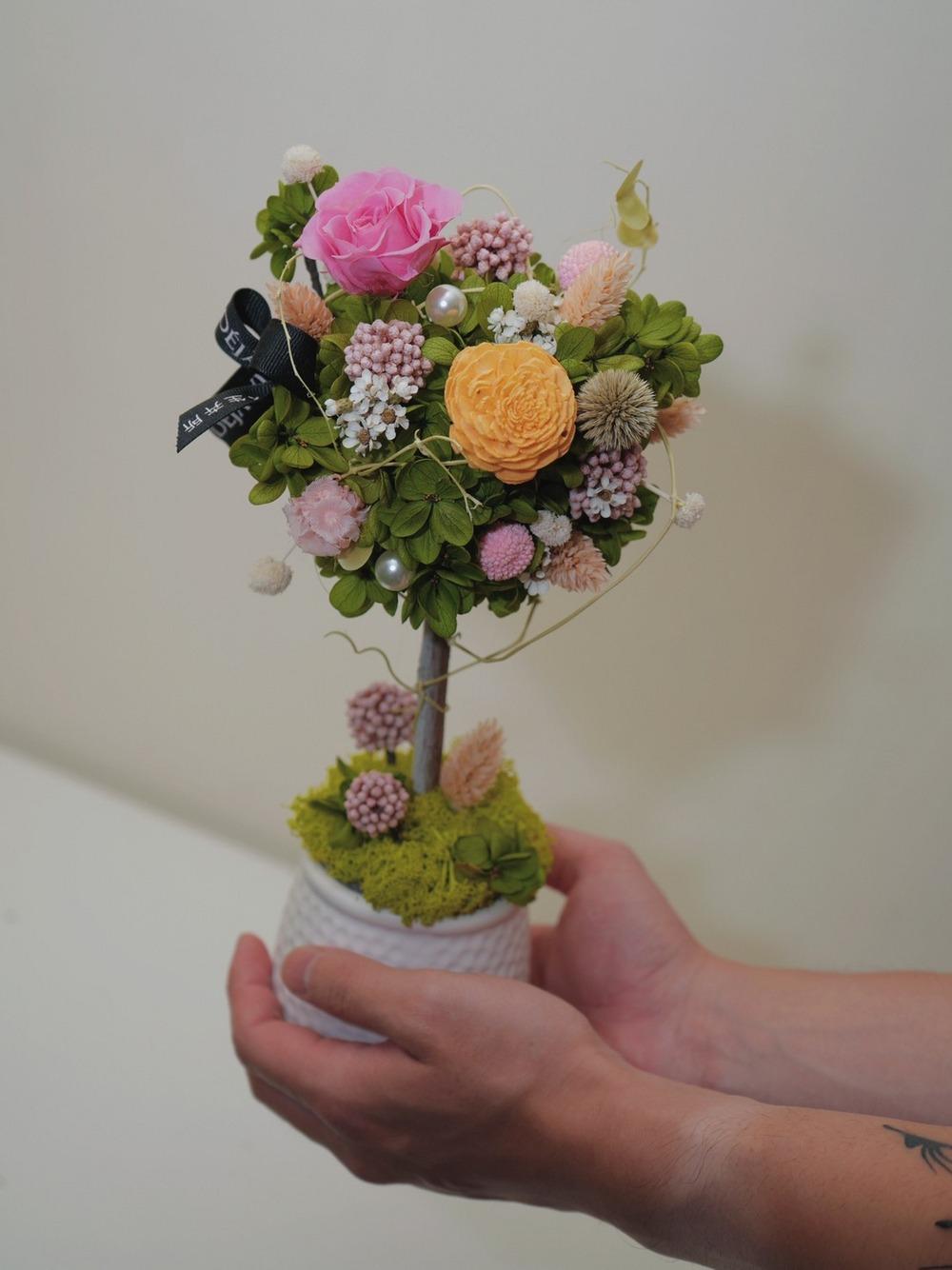 愛的玫瑰花禮-鮮花白