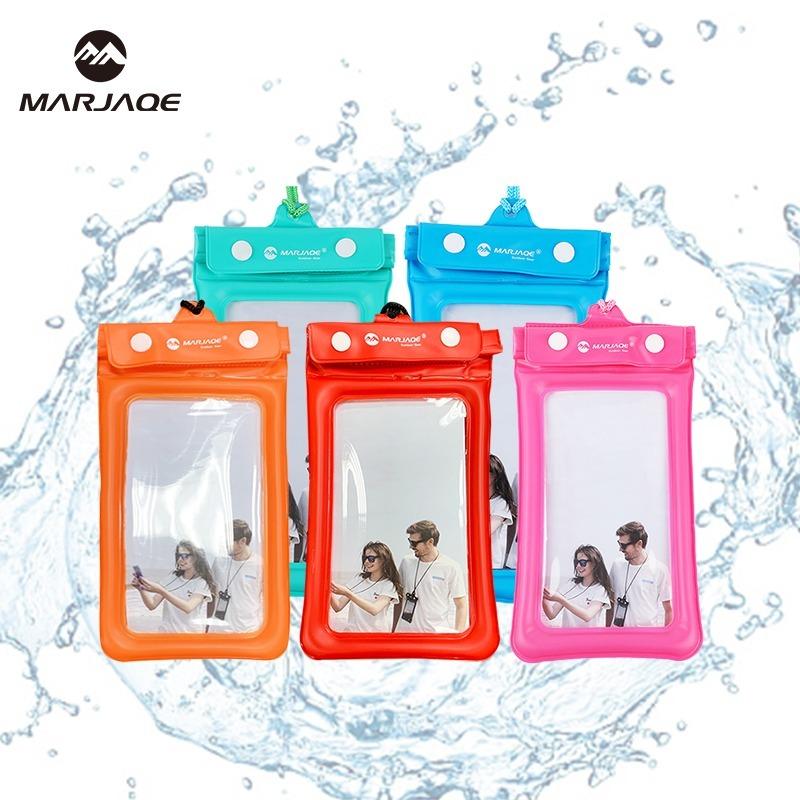 馬卡色氣囊型手機防水袋