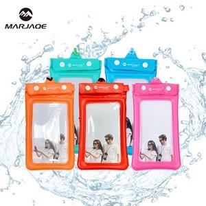 馬卡色氣囊手機防水袋