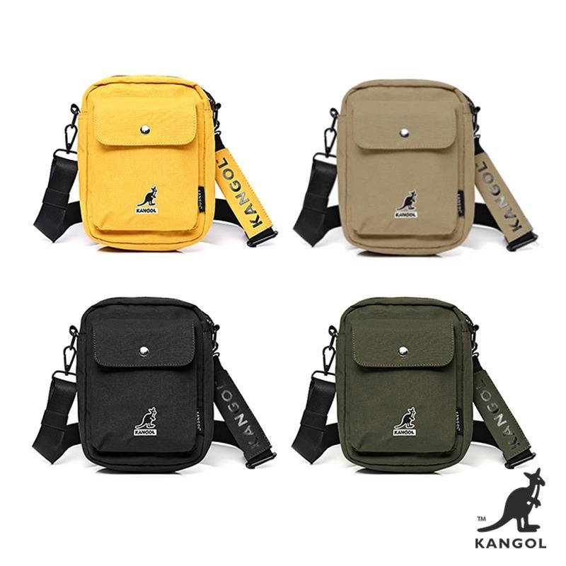 KANGOL經典小LOOG旅行小包側背包單肩包 4色