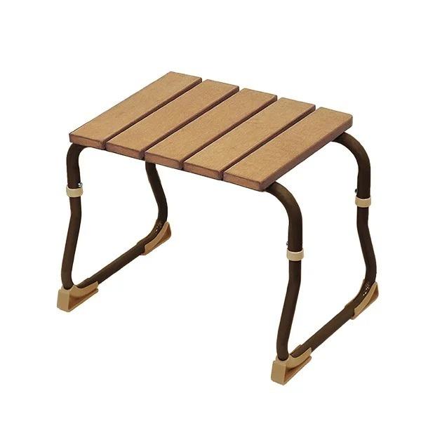 仿木輕型洗澡椅(台灣製造)