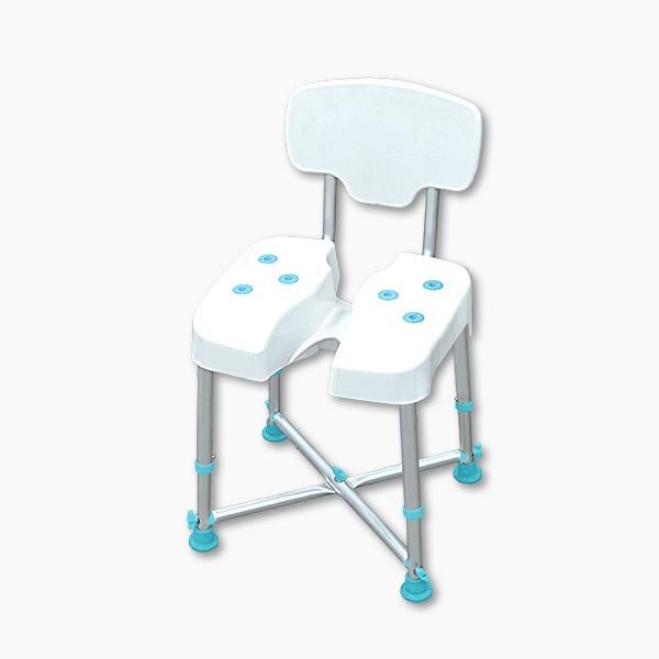 【五星評價】靠背洗臀洗澡椅(台灣製造)