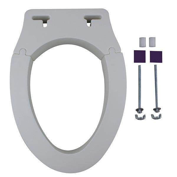 可拆式長型馬桶增高座墊(台灣製造)