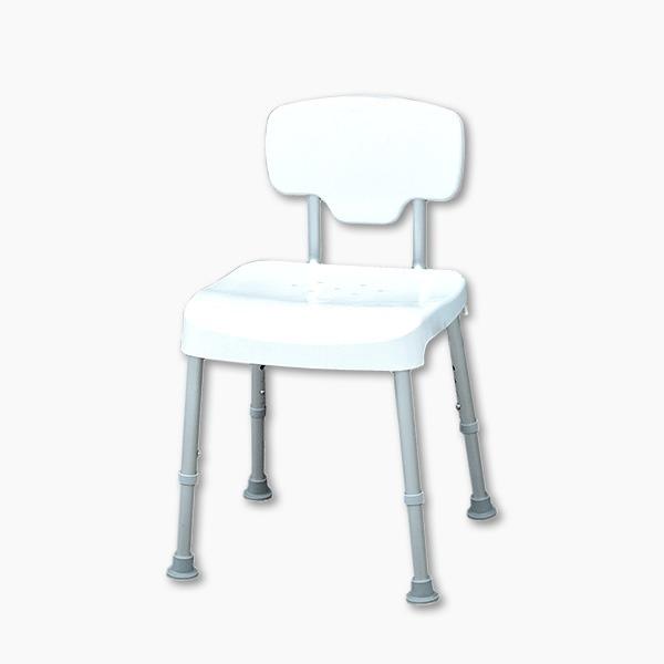 【五星評價】免工具靠背耐重洗澡椅(台灣製造)