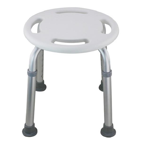 免工具圓型洗澡椅(台灣製造)