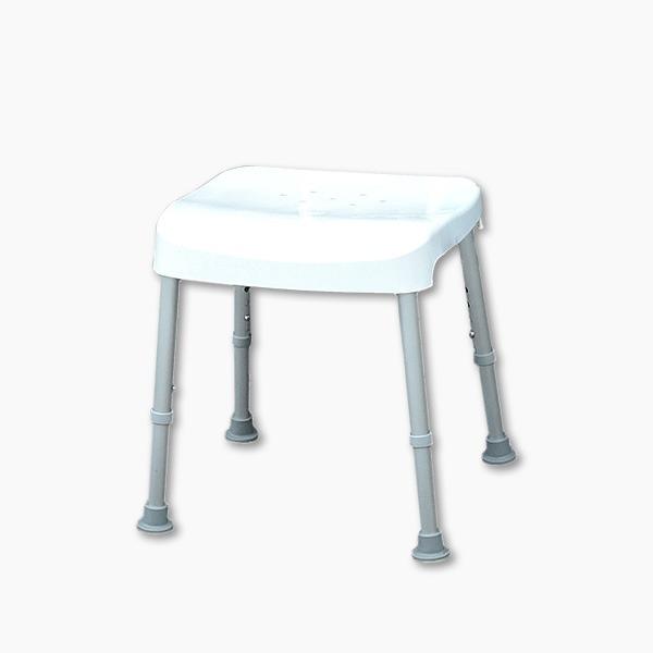 【五星評價】免工具無靠背耐重型洗澡椅(台灣製造)