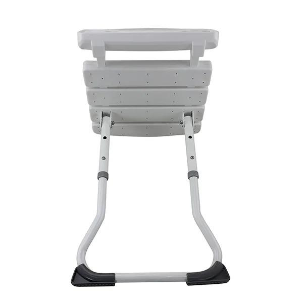 壁掛式撐地摺疊洗澡椅(台灣製造)