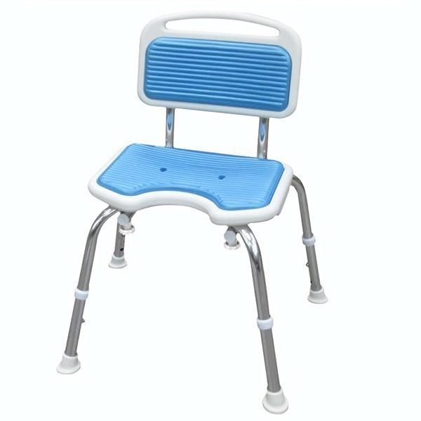 免工具軟墊靠背洗澡椅(台灣製造)